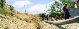 Costruzione di condotte d'acqua e opere idrauliche
