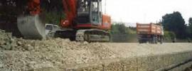 Interventi di costruzione opere fluviali