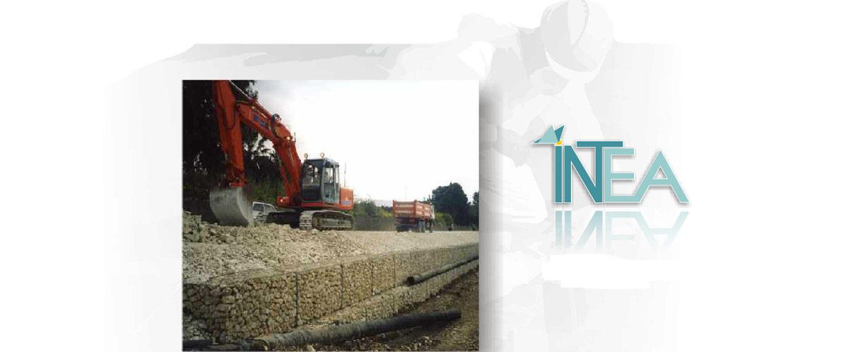 Interventi di costruzione opere fluviali in Sicilia