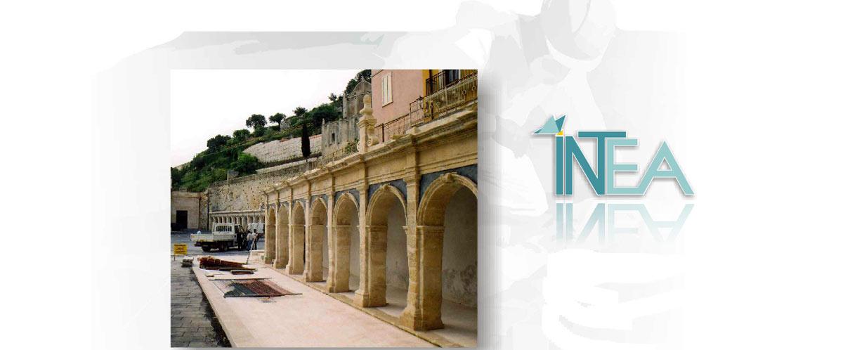 Lavori di restauro e risanamento in Sicilia