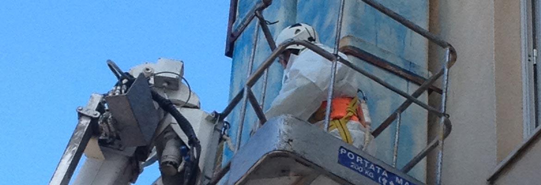 Sicurezza cantiere durante la bonifica amianto in Sicilia