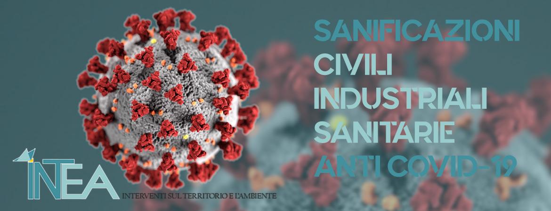 Sanificazione civile e industriale da Covid-19